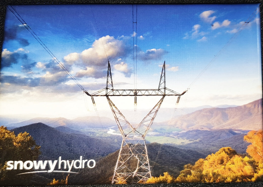 Tin Magnet - Snowy Hydro Power Lines