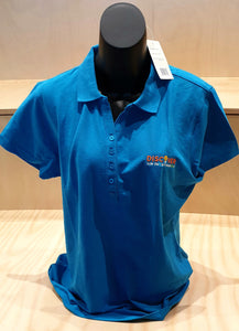 Crew Ladies Polo - Cyan