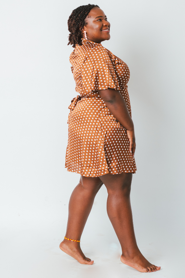 Amari Polka Dot Dress