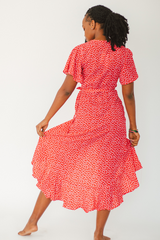Ava Polka Dot Dress