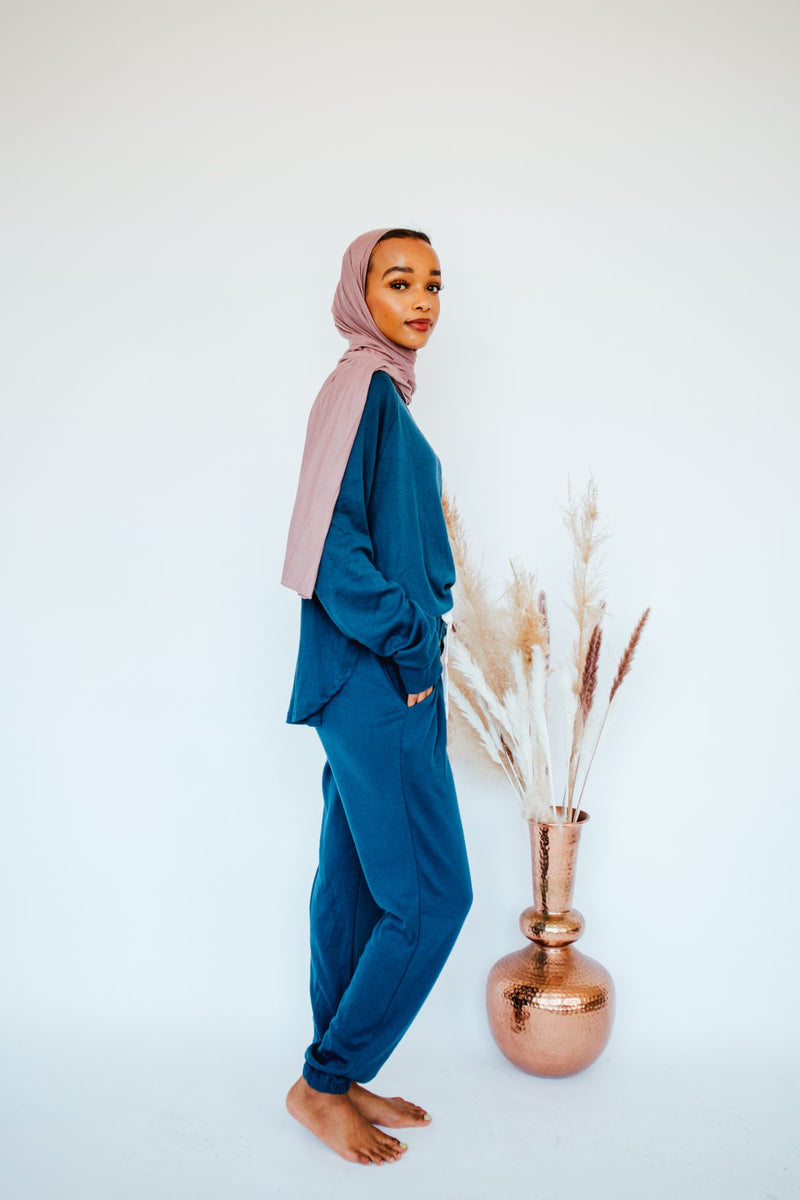 Aurora Blue Loungewear Set