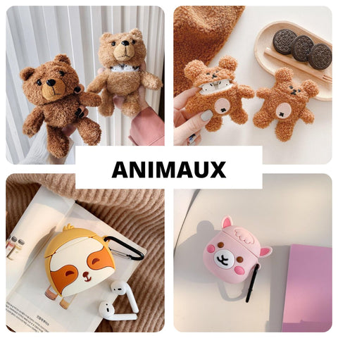 coque-airpods-animal