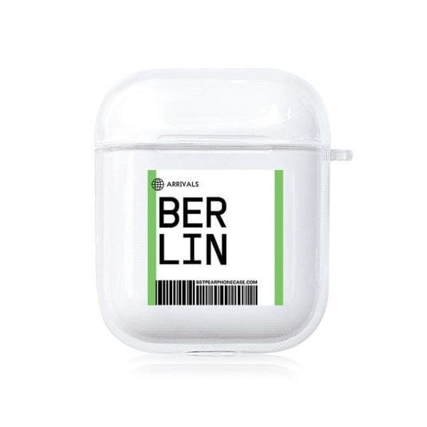 Coque AirPods Berlin - Transparent