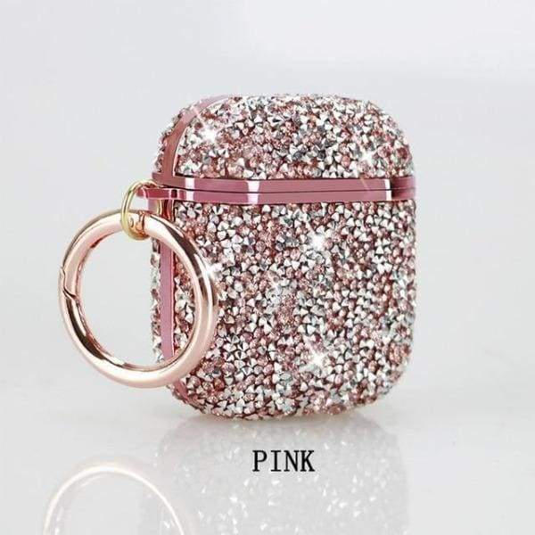 Coque AirPods Bling - Rose