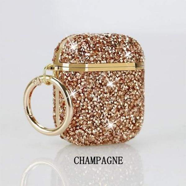 Coque AirPods Bling - Champagne
