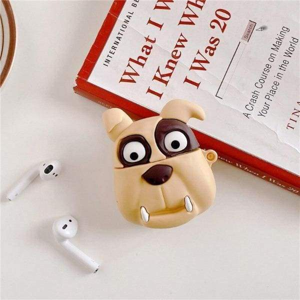 Coque AirPods Bull Dog - Airpods 1 & 2