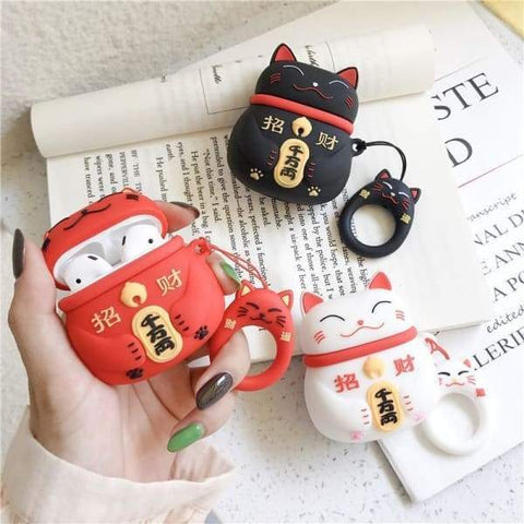Coque AirPods Chat Chinois - Airpods 1 & 2