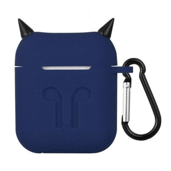 Coque AirPods Diable - Bleu Marine - Airpods 1 & 2