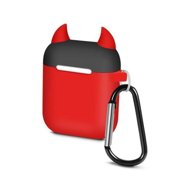 Coque AirPods Diable - Rouge & Noir - Airpods 1 2