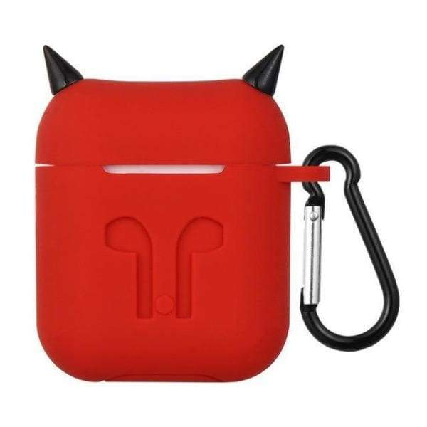 Coque AirPods Diable - Rouge - Airpods 1 & 2