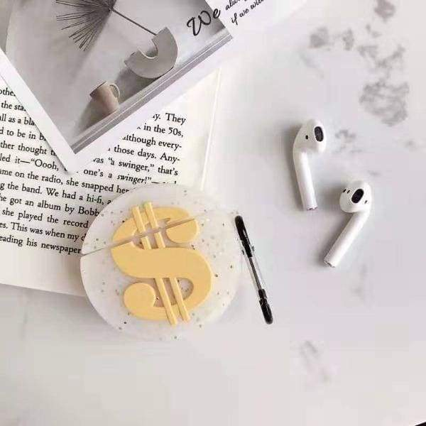 Coque Airpods Dollars - 1 & 2