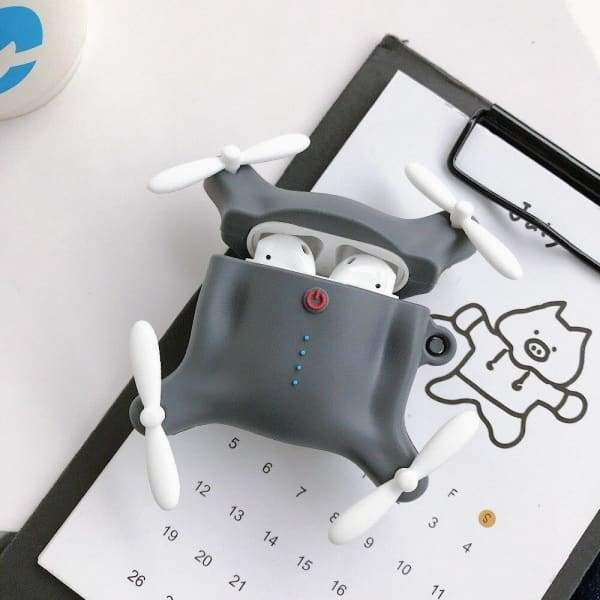 Coque AirPods Drone