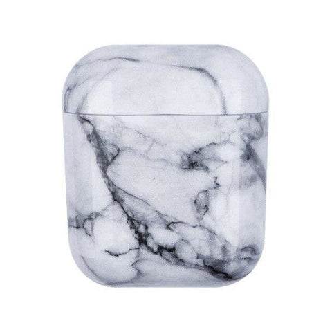 Coque AirPods Grise Marbre - Gris - Airpods 1 & 2