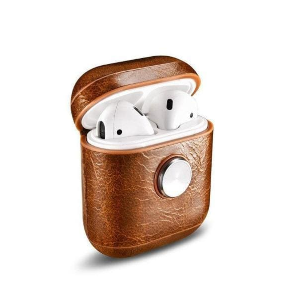 Coque AirPods Hand Spinner - Marron - Airpods 1 & 2