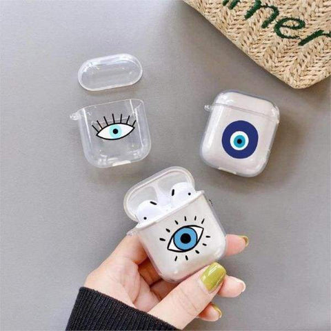 Coque AirPods Oeil De L'enfer - Airpods 1 & 2