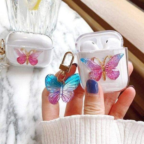 Coque AirPods Papillon Mignon