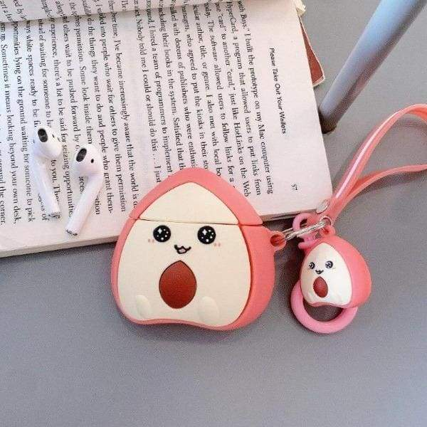 Coque AirPods Pêche 3D - Airpods 1 & 2