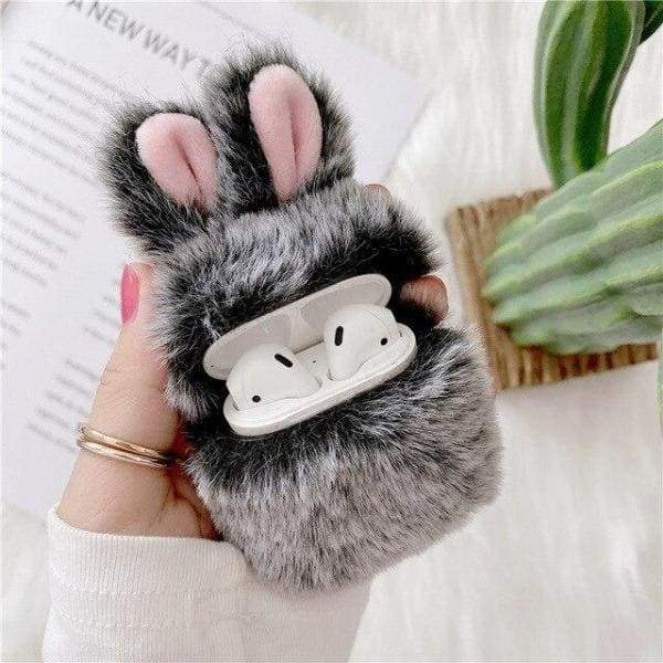 Coque AirPods Peluche Lapin - Airpods 1 & 2