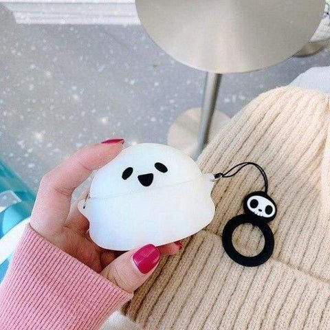 Coque AirPods Pro Fantôme - Blanc - Airpods