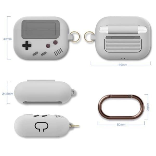Coque AirPods Pro Game Boy - Blanc - Airpods