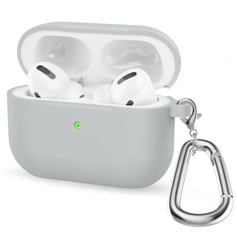 Coque AirPods Pro Grise - Gris - Airpods