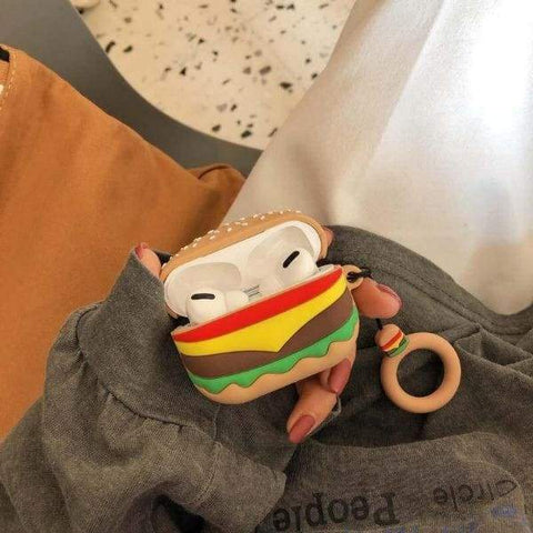 Coque AirPods Pro Hamburger - Airpods