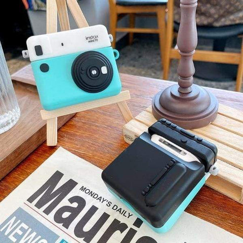 Coque AirPods Pro Polaroid - Bleu - Airpods