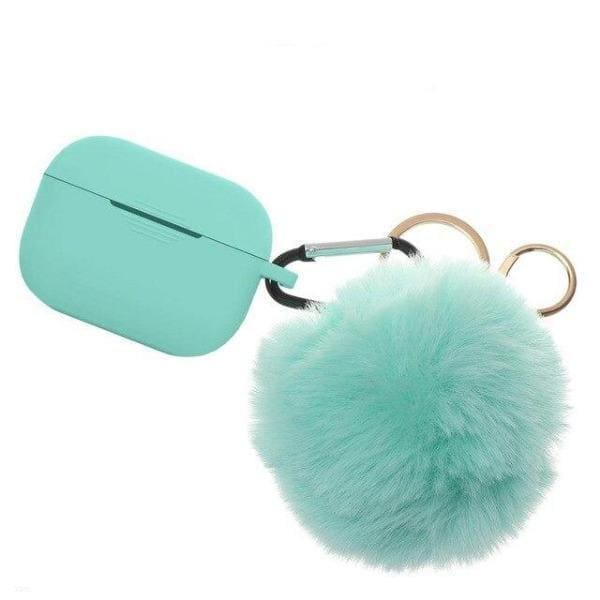 Coque AirPods Pro Pompon - Vert - Airpods