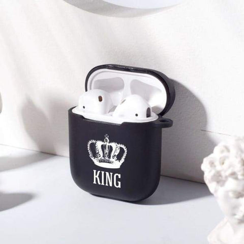 Coque AirPods Queen et King