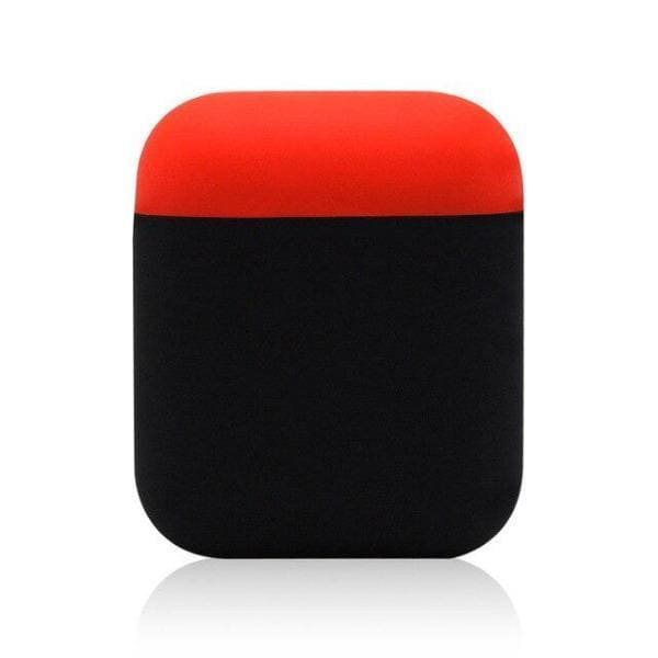 Coque AirPods Rouge & Noire - Airpods 1 2