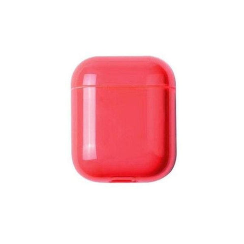 Coque AirPods Rouge Transparente - Airpods 1 & 2