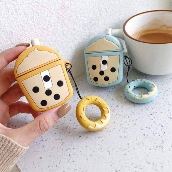 Coque AirPods Tasse Bubble Tea - Airpods 1 & 2
