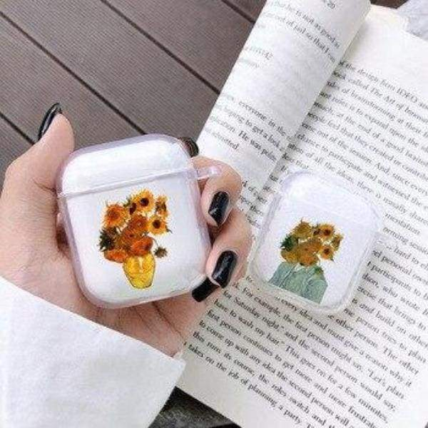 Coque AirPods Tournesol - Airpods 1 & 2