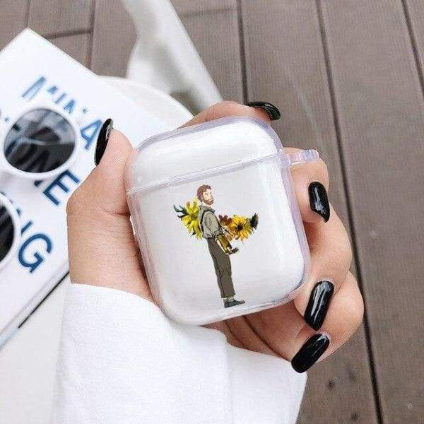 Coque AirPods Tournesol - Van Gogh Qui Peint - Airpods 1 & 2