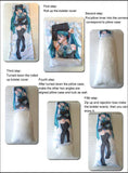 Asui Tsuyu Anime Dakimakura Hugging Body Pillow Case