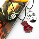 One Punch Man Saitama Fist Hand Metal Keychian Pendant Necklace