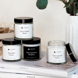Clozette x Hush Candle 4-Candle Collection