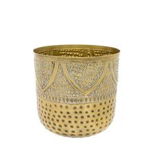Load image into Gallery viewer, Arabella Decor Pot - Gold