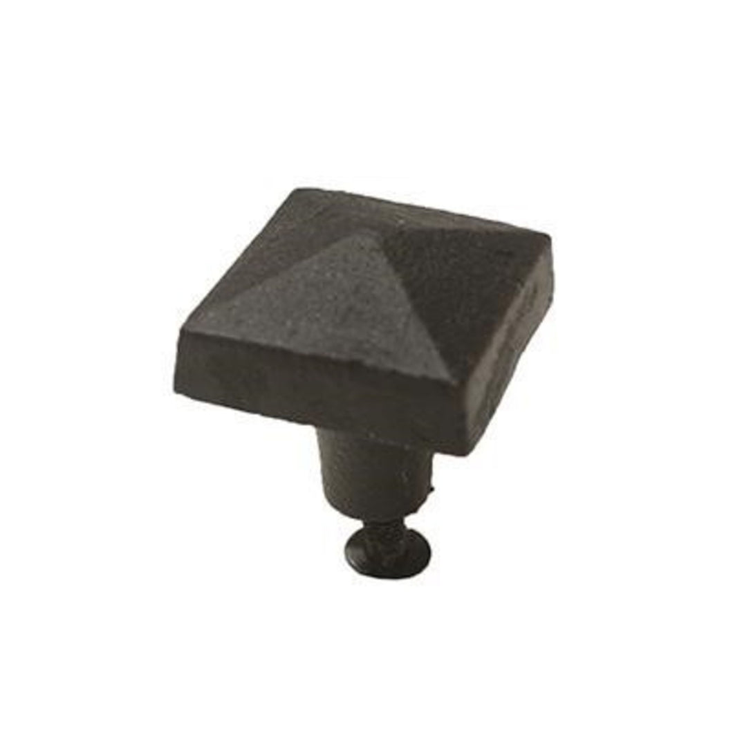 Square Iron Knob - Small