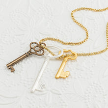 Load image into Gallery viewer, Key Charm Pendant