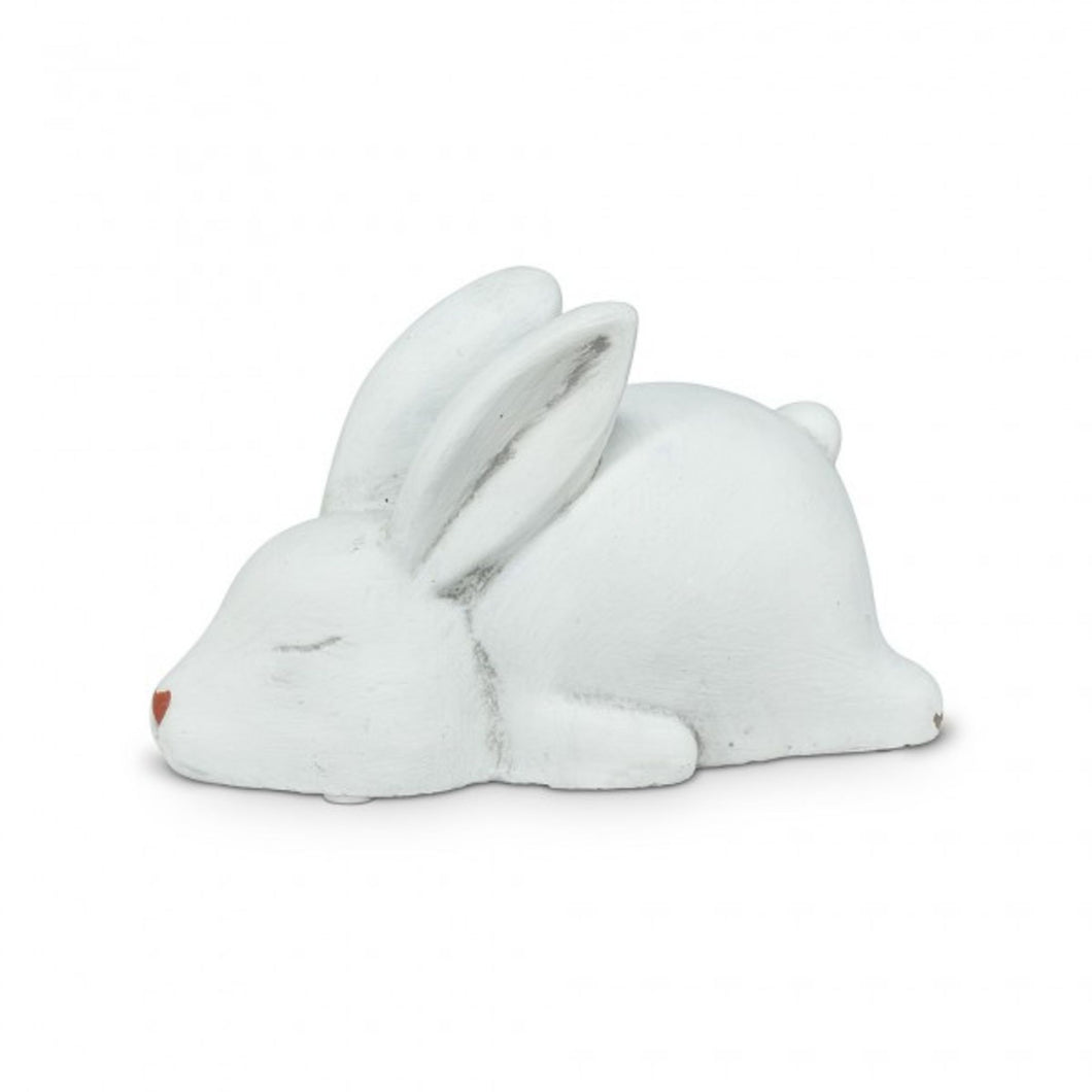 Sleeping White Bunny