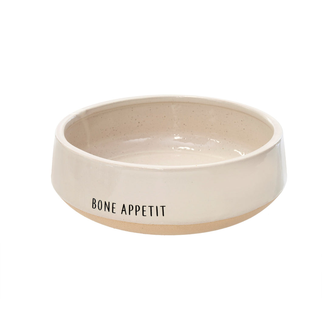 'Bone' Appetit Dog Bowl