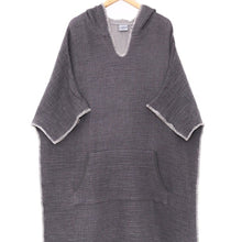 Load image into Gallery viewer, Cocoon Surf Poncho - Grey