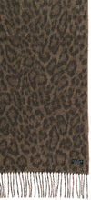 Load image into Gallery viewer, Two Tone Leo Woven Cashmink® Scarf - Camel