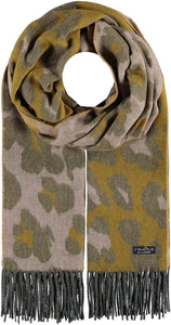 Multi Leo Oversized Woven Cashmink® Wrap Scarf - Light Rose