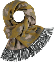 Load image into Gallery viewer, Multi Leo Oversized Woven Cashmink® Wrap Scarf - Light Rose