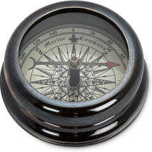 Load image into Gallery viewer, Starburst Desk Compass - Gunmetal