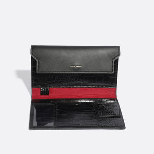 Bianca Travel Organizer - Black Croc