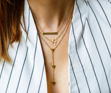 Load image into Gallery viewer, Luxe Bar Necklace