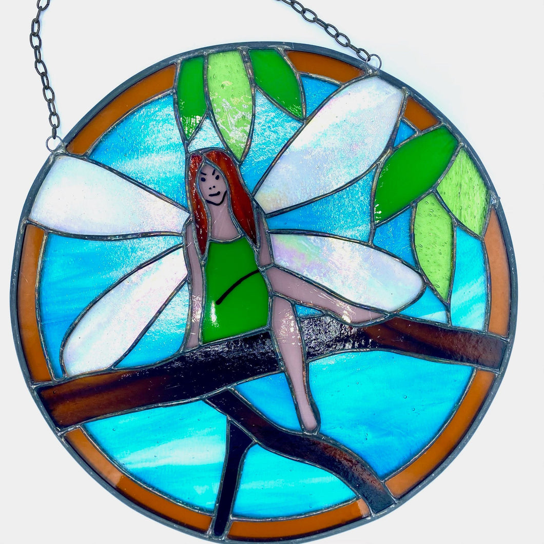 Stained Glass - Garden Fairy